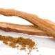 Cordyceps getrocknet als Pulver und als Kapsel